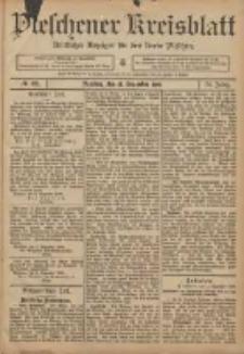 Pleschener Kreisblatt: Amtlicher Anzeiger für den Kreis Pleschen 1906.12.12 Jg.54 Nr99
