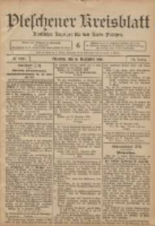 Pleschener Kreisblatt: Amtlicher Anzeiger für den Kreis Pleschen 1906.12.15 Jg.54 Nr100