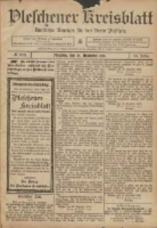 Pleschener Kreisblatt: Amtlicher Anzeiger für den Kreis Pleschen 1906.12.29 Jg.54 Nr103