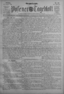 Posener Tageblatt 1911.08.27 Jg.50 Nr401