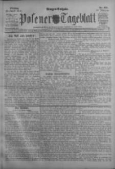 Posener Tageblatt 1911.08.29 Jg.50 Nr403