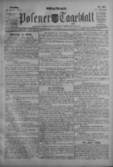 Posener Tageblatt 1911.08.29 Jg.50 Nr404