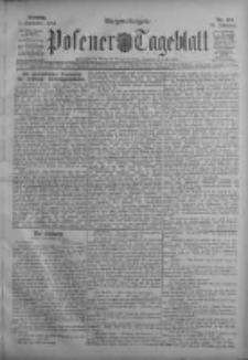 Posener Tageblatt 1911.09.03 Jg.50 Nr413