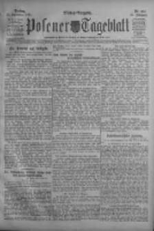 Posener Tageblatt 1911.09.15 Jg.50 Nr434