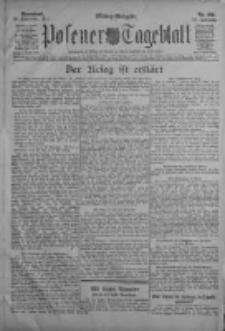 Posener Tageblatt 1911.09.30 Jg.50 Nr460
