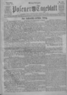 Posener Tageblatt 1911.10.05 Jg.50 Nr468