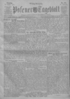 Posener Tageblatt 1911.10.10 Jg.50 Nr476