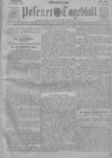 Posener Tageblatt 1911.10.14 Jg.50 Nr484