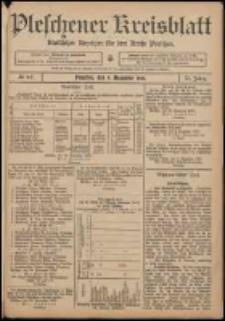 Pleschener Kreisblatt: Amtlicher Anzeiger für den Kreis Pleschen 1907.12.04 Jg.55 Nr97