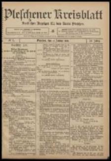 Pleschener Kreisblatt: Amtlicher Anzeiger für den Kreis Pleschen 1908.01.15 Jg.56 Nr5