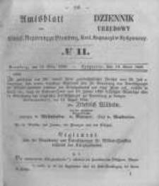 Amtsblatt der Königlichen Preussischen Regierung zu Bromberg. 1856.03.14 No.11