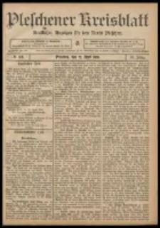 Pleschener Kreisblatt: Amtlicher Anzeiger für den Kreis Pleschen 1908.04.22 Jg.56 Nr33