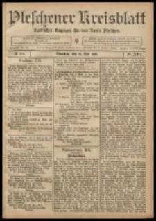 Pleschener Kreisblatt: Amtlicher Anzeiger für den Kreis Pleschen 1908.05.30 Jg.56 Nr44