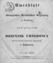 Amtsblatt der Königlichen Preussischen Regierung zu Bromberg. 1860.01.06 No.1