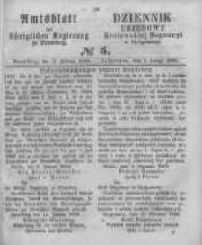 Amtsblatt der Königlichen Preussischen Regierung zu Bromberg. 1860.02.03 No.5
