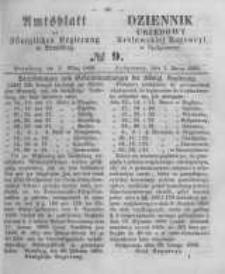 Amtsblatt der Königlichen Preussischen Regierung zu Bromberg. 1860.03.02 No.9