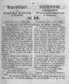 Amtsblatt der Königlichen Preussischen Regierung zu Bromberg. 1860.03.09 No.10