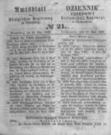 Amtsblatt der Königlichen Preussischen Regierung zu Bromberg. 1860.05.25 No.21