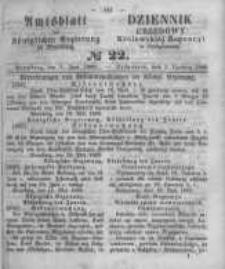 Amtsblatt der Königlichen Preussischen Regierung zu Bromberg. 1860.06.01 No.22