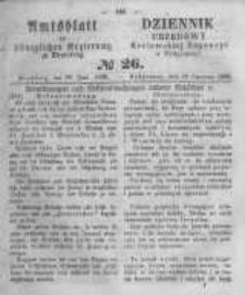 Amtsblatt der Königlichen Preussischen Regierung zu Bromberg. 1860.06.29 No.26