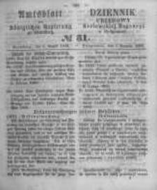 Amtsblatt der Königlichen Preussischen Regierung zu Bromberg. 1860.08.03 No.31