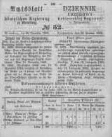 Amtsblatt der Königlichen Preussischen Regierung zu Bromberg. 1860.12.28 No.52