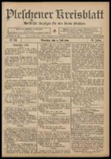 Pleschener Kreisblatt: Amtlicher Anzeiger für den Kreis Pleschen 1908.07.08 Jg.56 Nr55