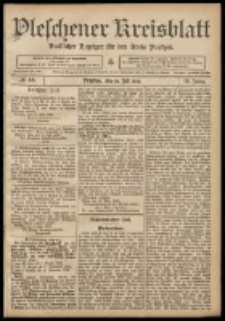 Pleschener Kreisblatt: Amtlicher Anzeiger für den Kreis Pleschen 1908.07.18 Jg.56 Nr58