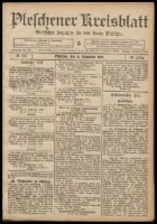 Pleschener Kreisblatt: Amtlicher Anzeiger für den Kreis Pleschen 1908.09.16 Jg.56 Nr75