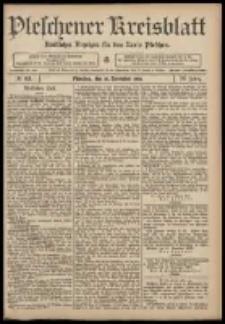 Pleschener Kreisblatt: Amtlicher Anzeiger für den Kreis Pleschen 1908.11.18 Jg.56 Nr93