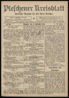 Pleschener Kreisblatt: Amtlicher Anzeiger für den Kreis Pleschen 1908.11.28 Jg.56 Nr96