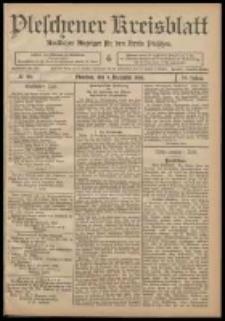 Pleschener Kreisblatt: Amtlicher Anzeiger für den Kreis Pleschen 1908.12.09 Jg.56 Nr99