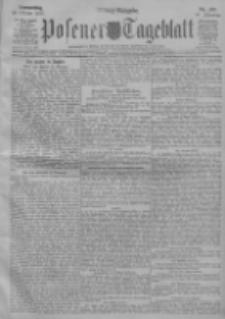 Posener Tageblatt 1911.10.19 Jg.50 Nr492