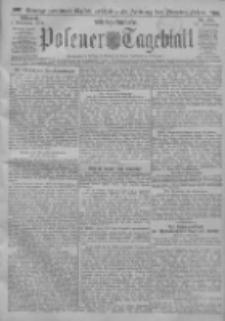 Posener Tageblatt 1911.11.01 Jg.50 Nr514