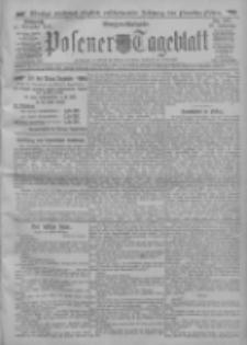 Posener Tageblatt 1911.11.15 Jg.50 Nr537