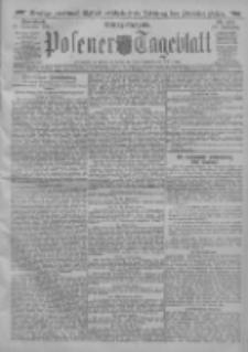 Posener Tageblatt 1911.11.18 Jg.50 Nr544