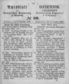 Amtsblatt der Königlichen Preussischen Regierung zu Bromberg. 1860.12.14 No.50