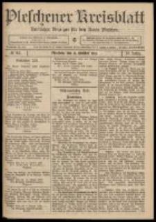 Pleschener Kreisblatt: Amtlicher Anzeiger für den Kreis Pleschen 1909.10.13 Jg.57 Nr82