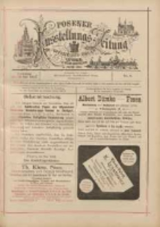 Posener Ausstellungs-Zeitung: Offizielles Organ der Provinzial-Gewerbe-Ausstellung 1895.05.28 Nr4