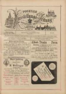 Posener Ausstellungs-Zeitung: Offizielles Organ der Provinzial-Gewerbe-Ausstellung 1895.05.30 Nr6