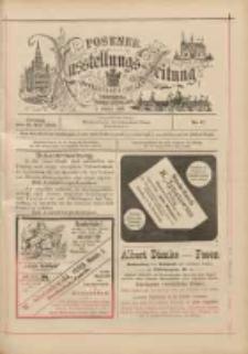 Posener Ausstellungs-Zeitung: Offizielles Organ der Provinzial-Gewerbe-Ausstellung 1895.05.31 Nr7