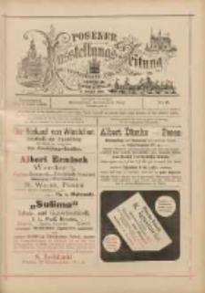 Posener Ausstellungs-Zeitung: Offizielles Organ der Provinzial-Gewerbe-Ausstellung 1895.06.01 Nr8