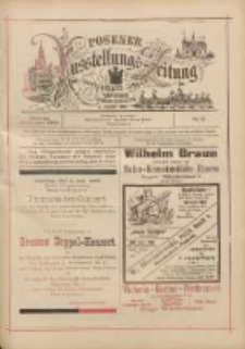 Posener Ausstellungs-Zeitung: Offizielles Organ der Provinzial-Gewerbe-Ausstellung 1895.06.02 Nr9