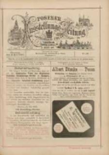 Posener Ausstellungs-Zeitung: Offizielles Organ der Provinzial-Gewerbe-Ausstellung 1895.06.04 Nr10