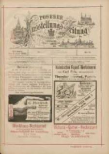 Posener Ausstellungs-Zeitung: Offizielles Organ der Provinzial-Gewerbe-Ausstellung 1895.06.05 Nr11