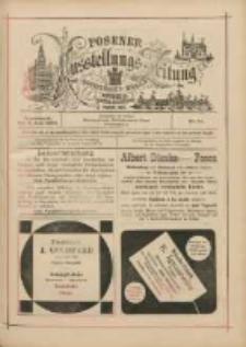 Posener Ausstellungs-Zeitung: Offizielles Organ der Provinzial-Gewerbe-Ausstellung 1895.06.08 Nr14