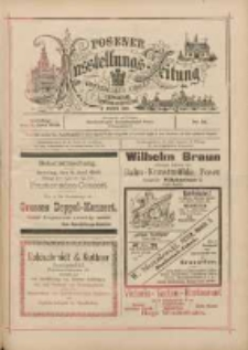 Posener Ausstellungs-Zeitung: Offizielles Organ der Provinzial-Gewerbe-Ausstellung 1895.06.09 Nr15
