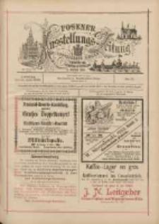 Posener Ausstellungs-Zeitung: Offizielles Organ der Provinzial-Gewerbe-Ausstellung 1895.06.11 Nr17