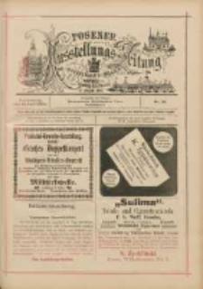 Posener Ausstellungs-Zeitung: Offizielles Organ der Provinzial-Gewerbe-Ausstellung 1895.06.13 Nr19