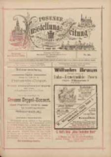 Posener Ausstellungs-Zeitung: Offizielles Organ der Provinzial-Gewerbe-Ausstellung 1895.06.16 Nr22